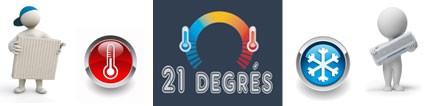 Vente Chauffage Climatisation Cheminée électrique… 21 Degrès : Boutique en ligne